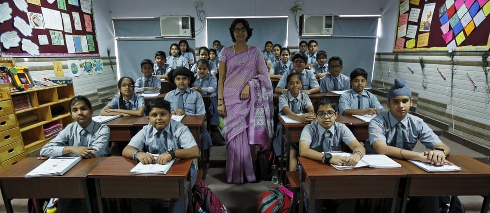 Is Social Distancing Feasible for a Majority of Schools in India?