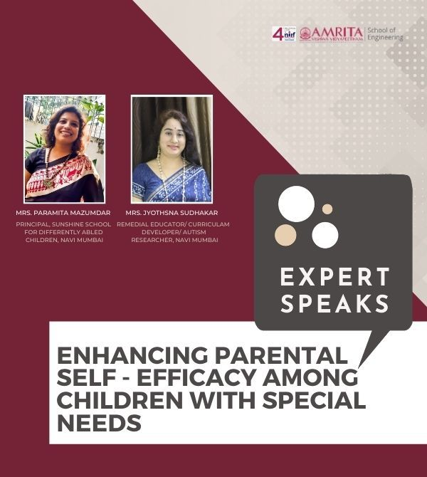 Enhancing Parental Self - Efficacy among children with special needs Square