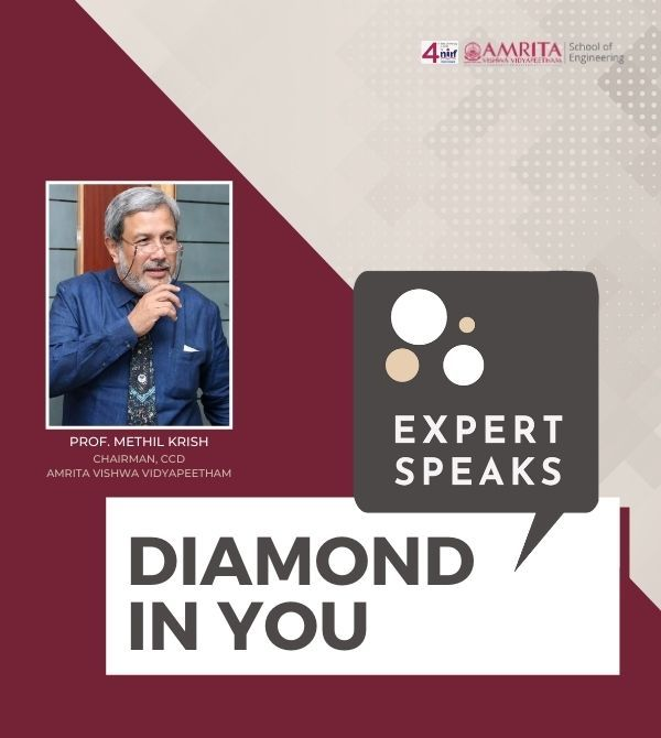 Diamond In You | Prof. Methil Krish