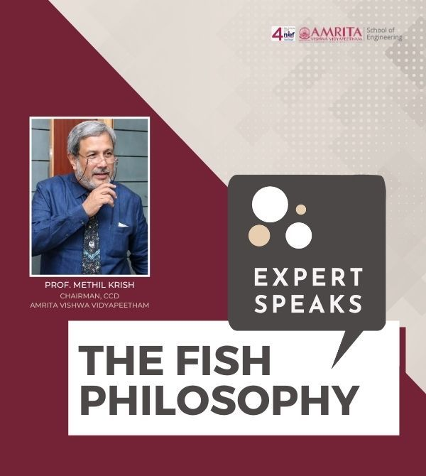 FISH PHILOSOPHY | Prof. Methil Krish
