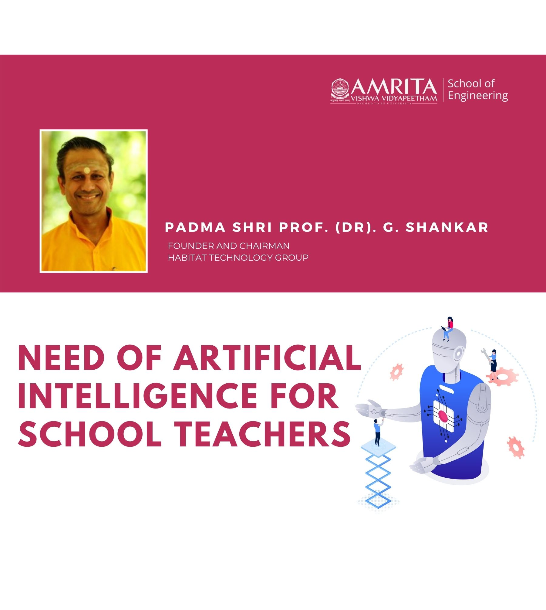 Need of Artificial Intelligence For School Teachers - Br. Maheshwara Chaitanya