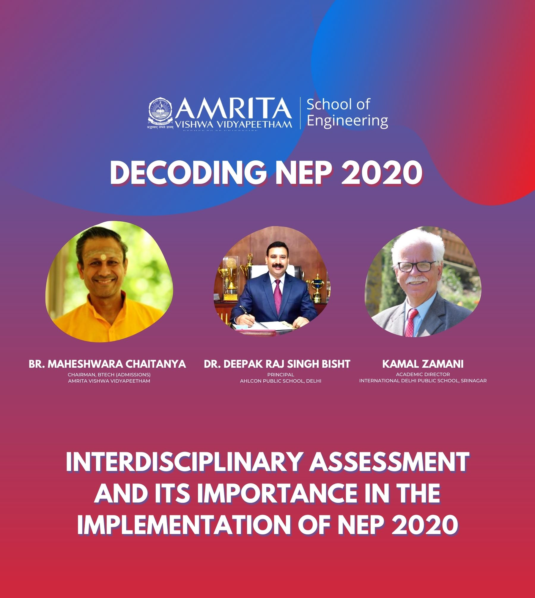 Interdisciplinary Assessment and Its Importance in the Implementation of NEP 2020