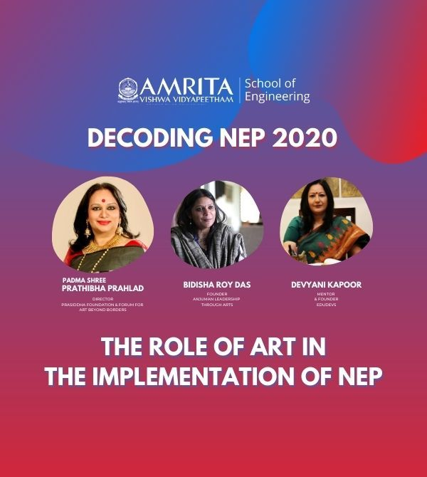 The Role of Art in the Implementation of NEP