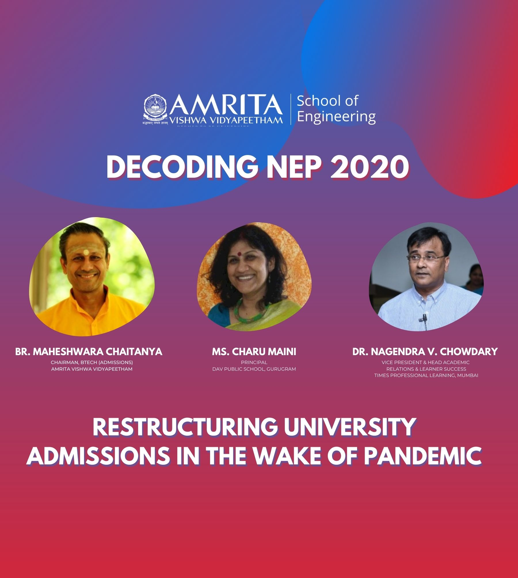 Restructuring University Admissions in the wake of Pandemic