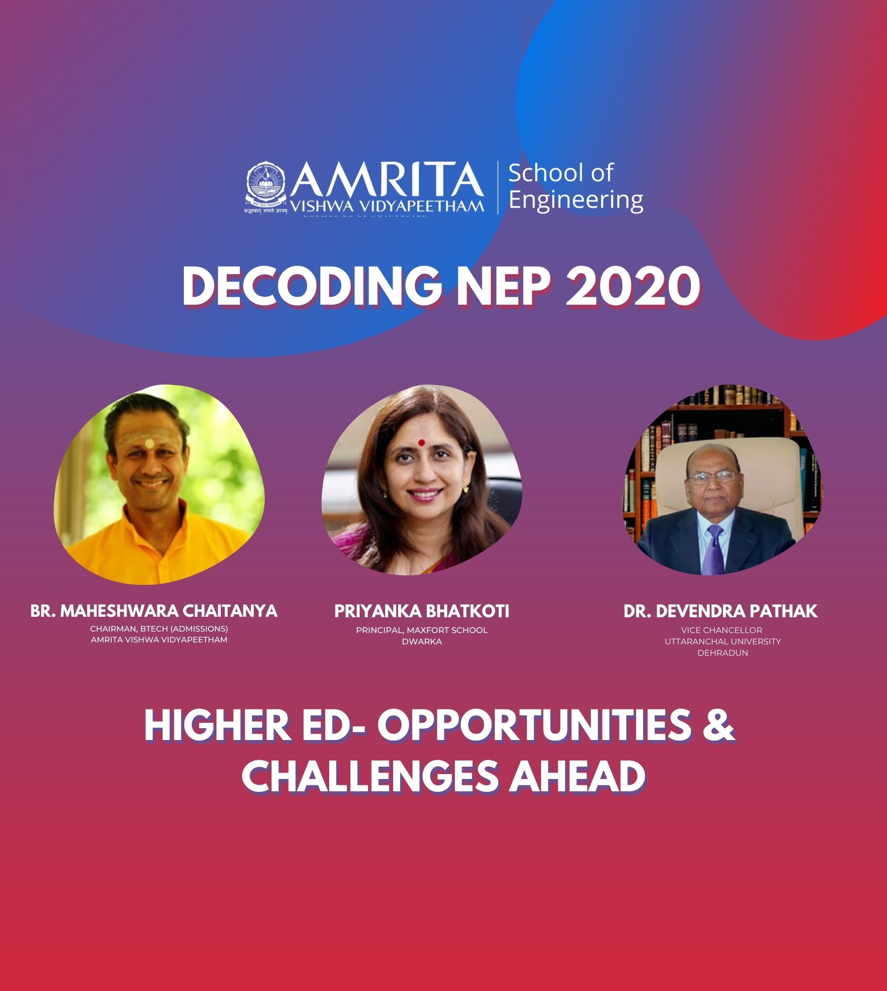 Higher Ed- Opportunities and challenges ahead